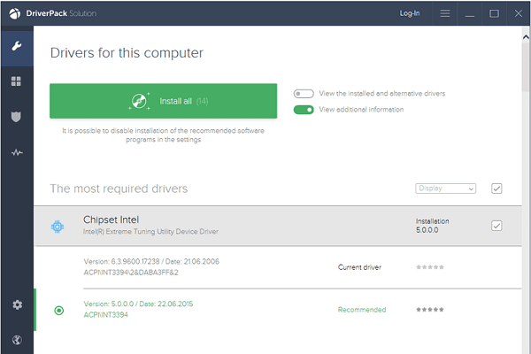 Free Download [Auto Driver] DriverPack Solution Online Portable Update 2019 _ Direct