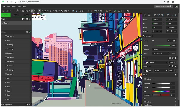 Free Download CorelDRAW Graphics Suite 21.2.0.708 for Mac