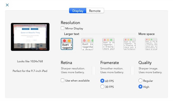 Free Download Duet Display 1.6.3.6 for Mac