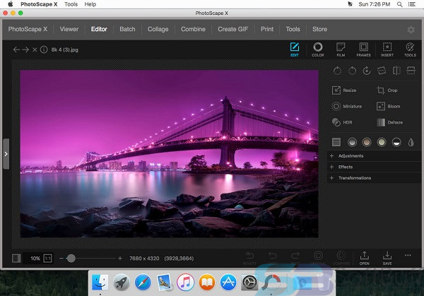Free Download PhotoScape X 3.0.3 for Mac _ Offline