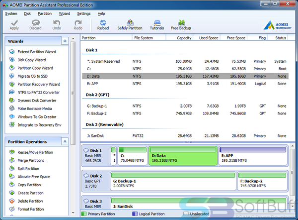 AOMEI Partition Assistant 8.5 Free Download Direct