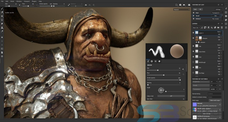 Allegorithmic Substance Painter 2019 for Mac Free Download Direct