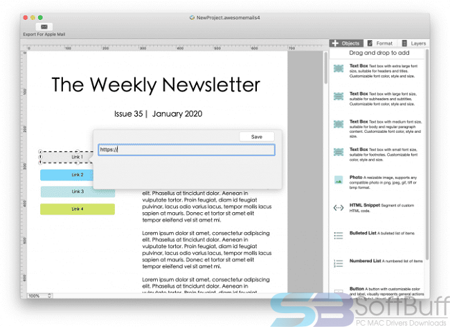 Awesome Mails Pro for Mac Free Download Direct