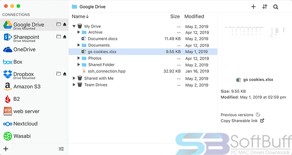 ExpanDrive for Mac Free Download Direct