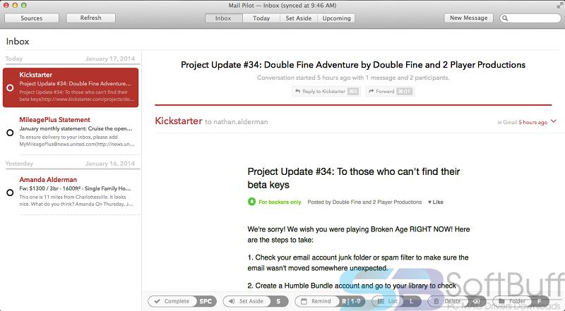 Free Download Mail Pilot for Mac Offline