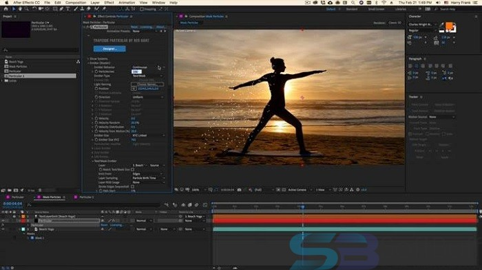Free Download Red Giant Trapcode Suite 15 for Mac - Direct