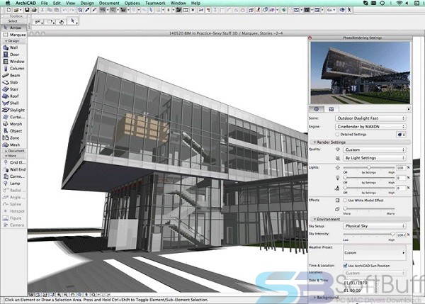 ARCHICAD 22 for MacOS Free Download