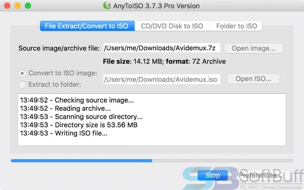 Download AnyToISO Professional 3.9.6 for macOS Free