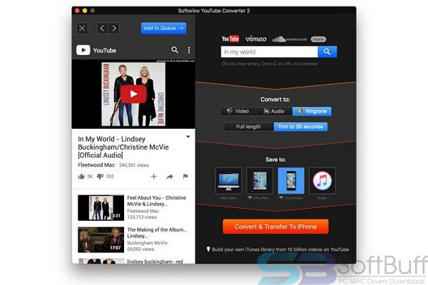 Download Softorino YouTube Converter for Mac