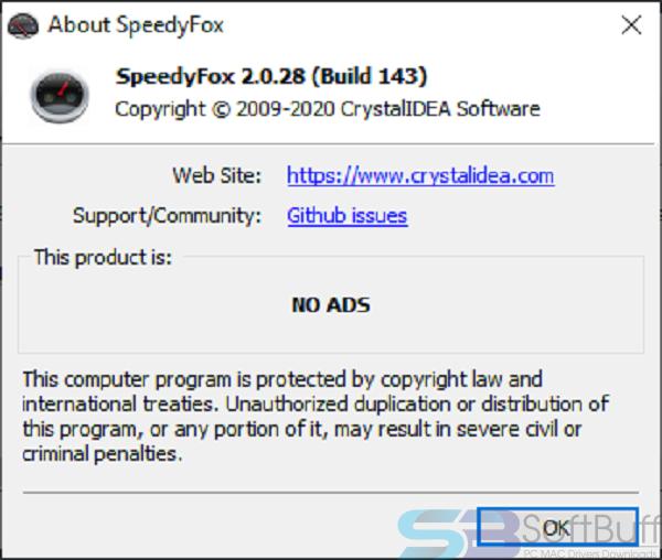 Download SpeedyFox 2.0.25 for Mac