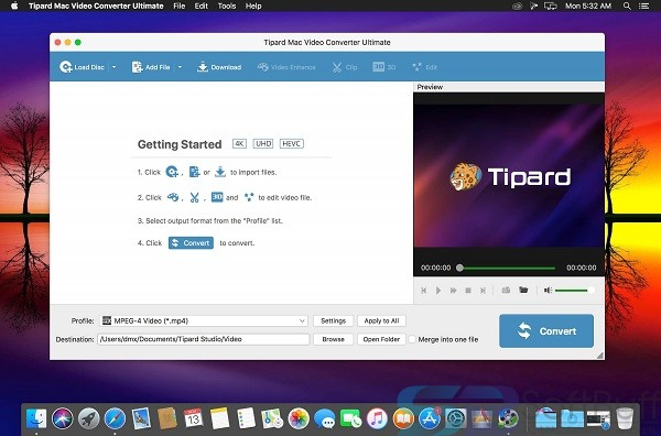 Download Tipard Video Converter Ultimate for Mac Free