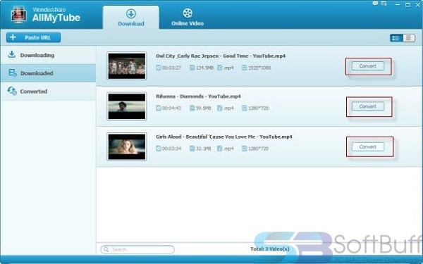 Download Wondershare AllMyTube 7.4.2.1 for Mac Free