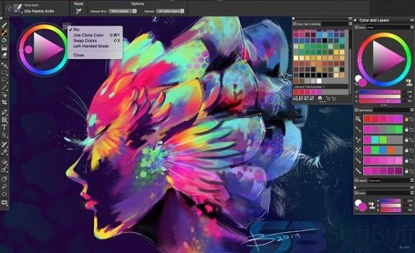 Free Download Corel Painter 2020 v20.1 for Mac Offline