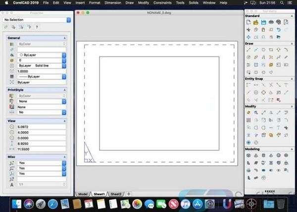 Free Download CorelCAD 2020 for Mac Direct