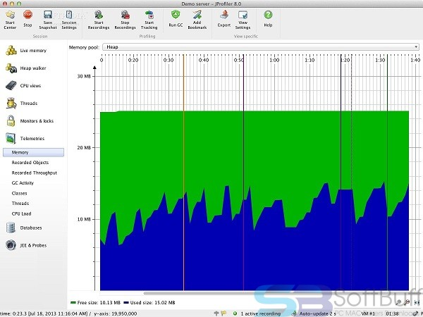Free Download EJ Technologies JProfiler 11 for Mac Offline