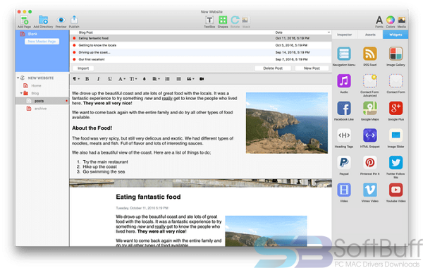 Free Download EverWeb 3.1.5 for Mac Offline
