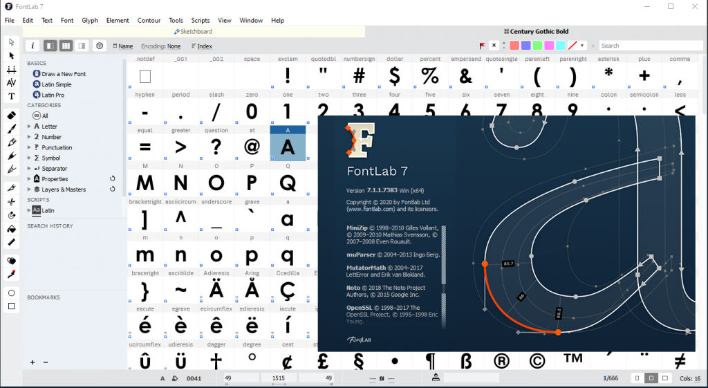 Free Download FontLab VII 7.1 for Mac Direct