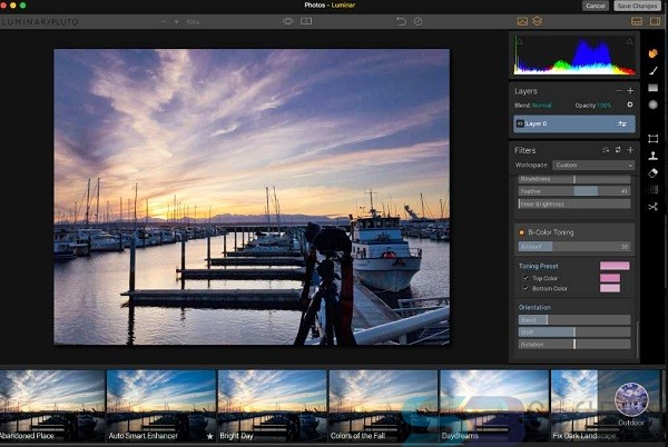 Free Download Luminar 4.1 for Mac