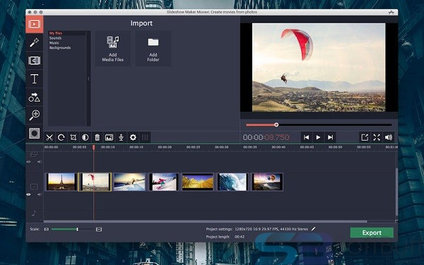 Free Download Movavi Slideshow Maker 6.4.0 for Mac Direct