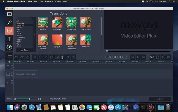 Free Download Movavi Video Editor Plus 2020 for Mac Direct