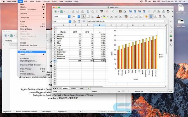 Free Download NeoOffice 2017 for Mac Offline