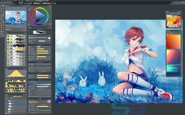 Free Download Paintstorm Studio 2.43 for Mac Direct
