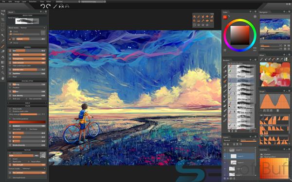 Free Download Paintstorm Studio 2.43 for Mac Offline