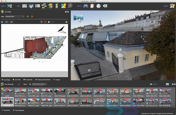 Free Download Pano2VR Pro 6.0.1 for Mac