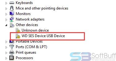 Free Download WD SES Device USB Device Driver (3264 bit) Direct