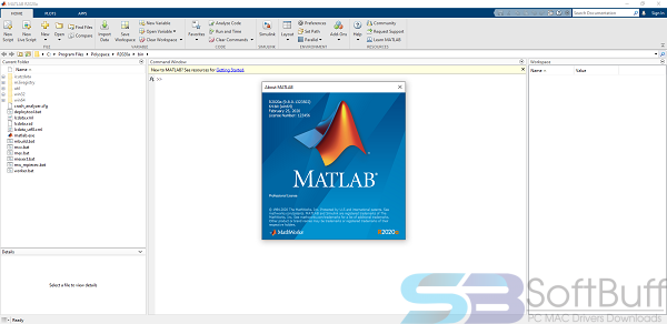 MATLAB 2020 for Mac Free Download