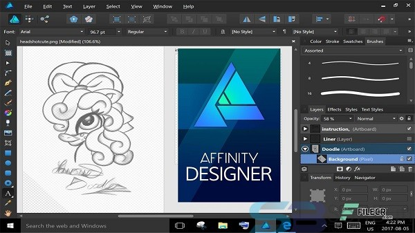 Serif Affinity Designer for Mac Free Download