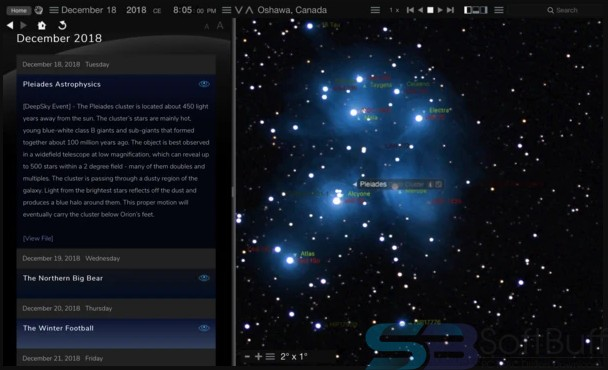 Starry Night Pro Plus 8.0 for Mac Free Download