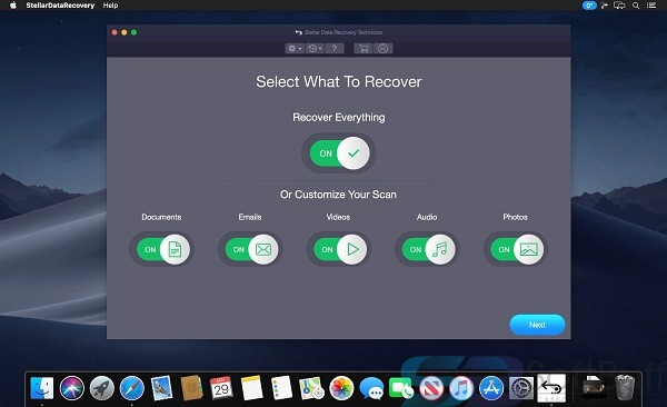 Stellar Data Recovery Technician 9 for Mac Free Download