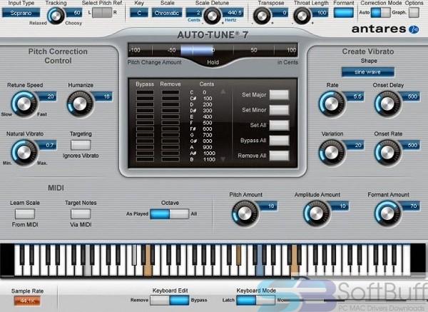 Auto Tune v7.6 for Mac free download