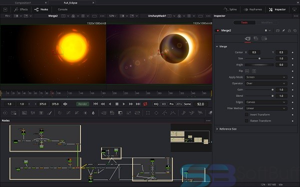Blackmagic Fusion Studio 9.0.2 for Mac free download