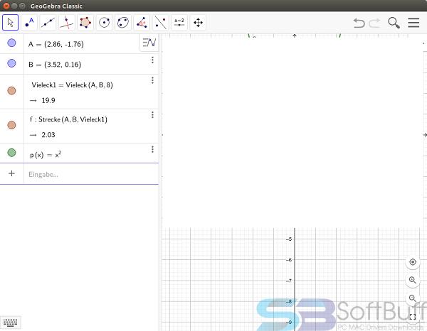 Free Download GeoGebra 6.0.579 for Mac Free