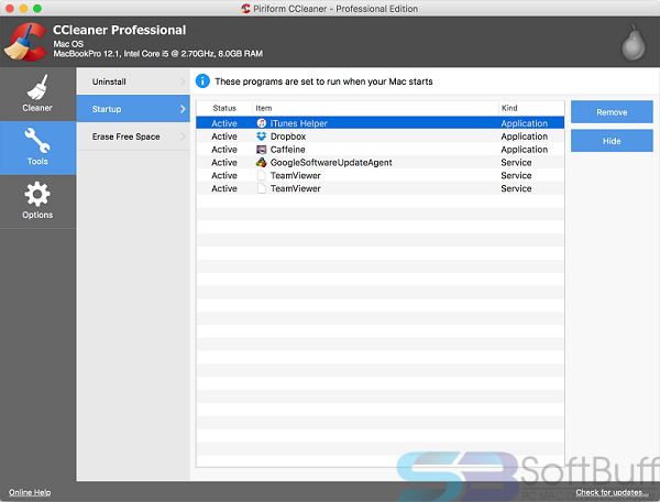 Free Download CCleaner for Mac Direct
