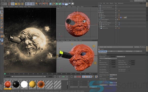 Free Download CINEMA 4D Studio R21 for Mac Direct
