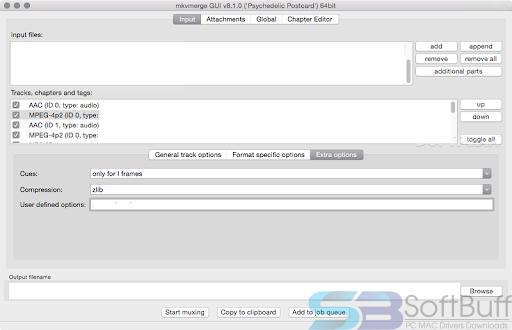 Free Download MKVToolNix 2020 for Mac Offline