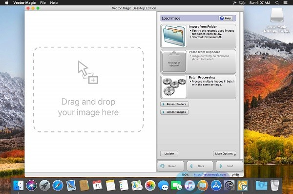 Free Download Vector Magic Desktop Edition v1.20 for Mac Direct