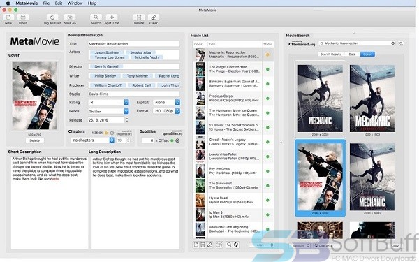 MetaMovie 2.4.3 for Mac Free Download