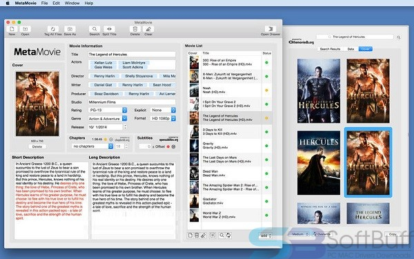 MetaMovie v2.4.3 for Mac