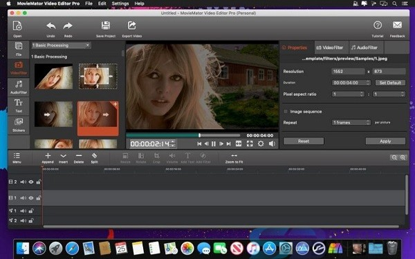 MovieMator Video Editor for Mac free download