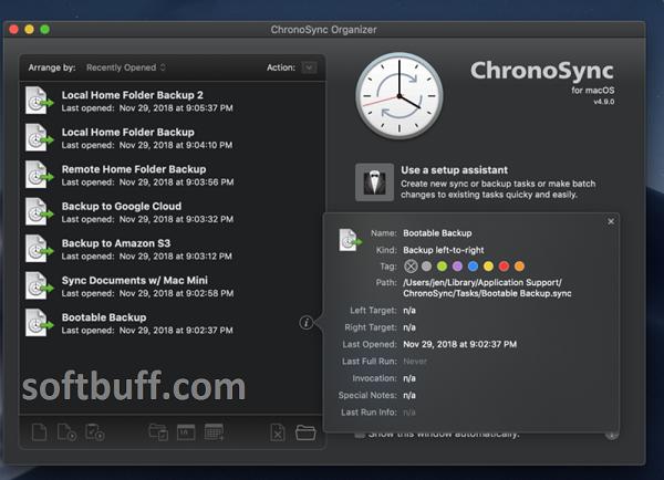 Download ChronoSync for macOS free