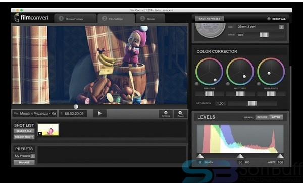 Free Download FilmConvert Pro 2.5 for Final Cut Pro for Mac Direct