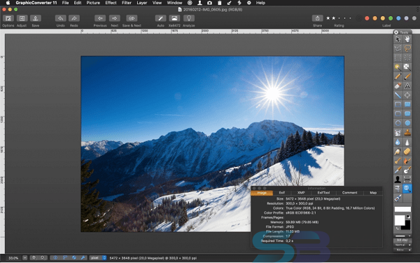 Free Download GraphicConverter 11.2 for Mac Direct