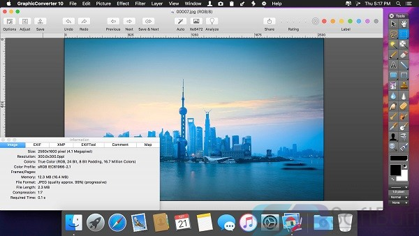 Free Download GraphicConverter 11.2 for Mac Offline