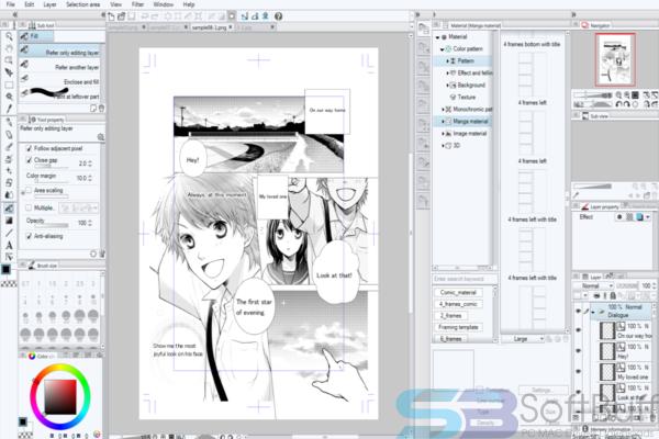 Free Download Manga Studio for Mac Offline