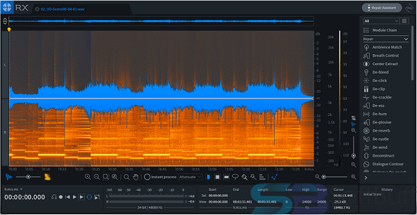 Free Download iZotope RX 7 Audio Editor Advanced for Mac Offline