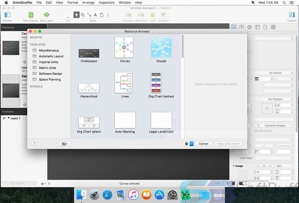 OmniGraffle Pro for Mac Free Download